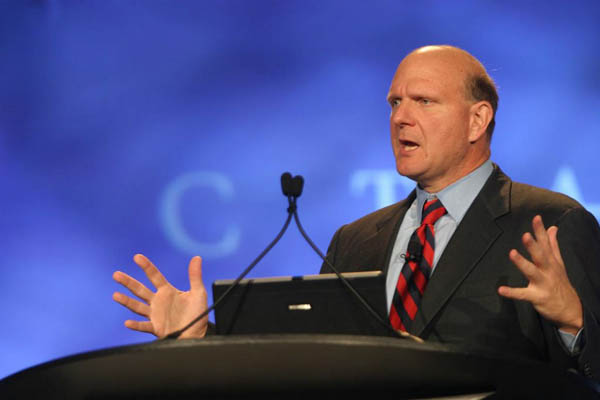 Microsoft, Steve Ballmer planea vender 75 millones de acciones de Microsoft