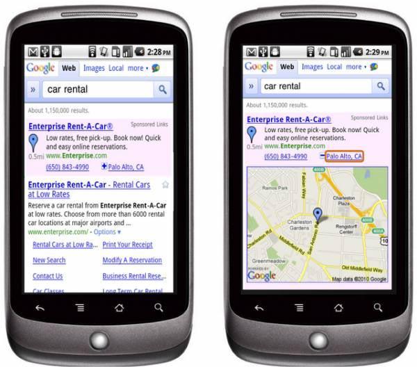 Google, la empresa consigue más de la mitad de los ingresos totales por publicidad móvil