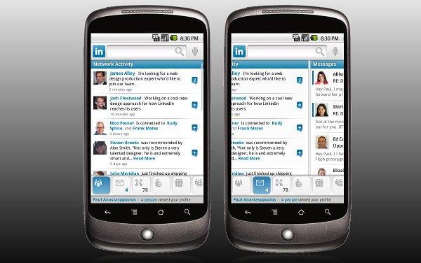 LinkedIn, la red social profesional lanza su aplicación para móviles Android