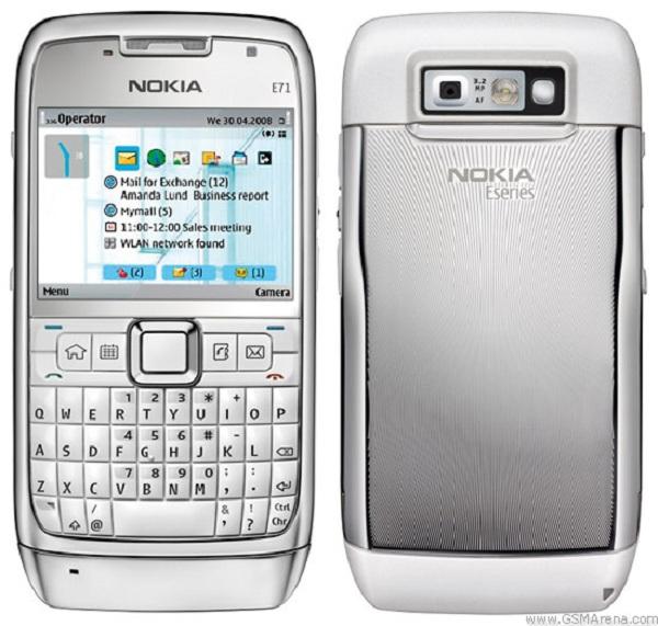 Nokia E71, móvil profesional sencillo y barato con teclado completo QWERTY