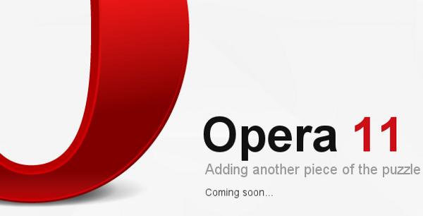 Opera 11, llega la nueva versión de Opera para robarle mercado a Internet Explorer o Chrome