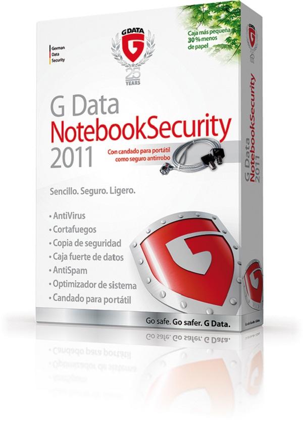 G-Data Notebook Security 2011, suite de seguridad de G-Data para profesionales móviles