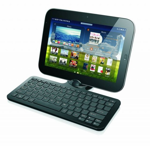 Lenovo LePad, tablet de 10,1″ Android que se convierte en un netbook con Windows 7