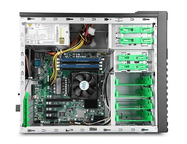 Gateway GT115 F1, servidor de torre con un procesador AMD Opteron 6100