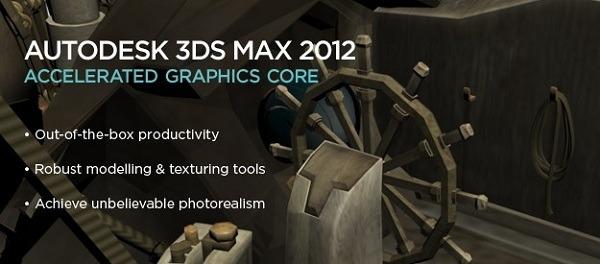 Autodesk 3ds Max 2012 y Autodesk 3ds Max Design 2012, creación de modelados en 3D