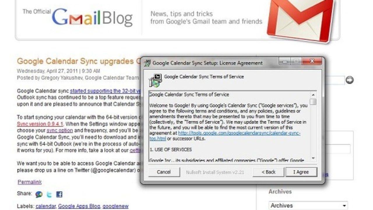 Cómo sincronizar Outlook y Gmail, compartir correos