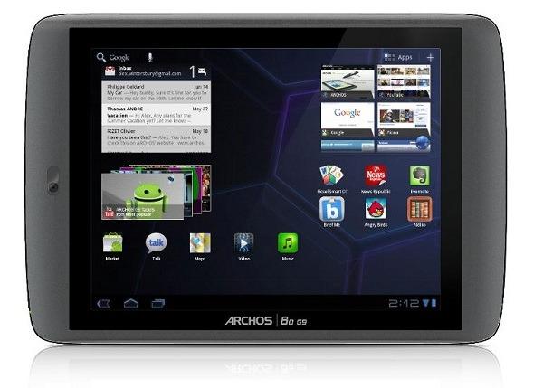 Archos 80 G9 y Archos 101 G9, tablets Android Honeycomb con disco duro y gran potencia