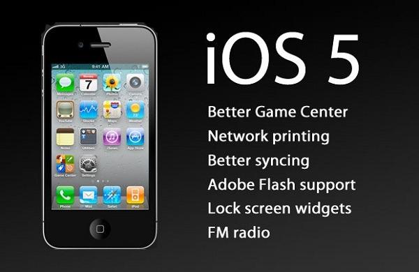 iOS 5, principales novedades de iOS 5 para iPhone, iPad e iPod Touch