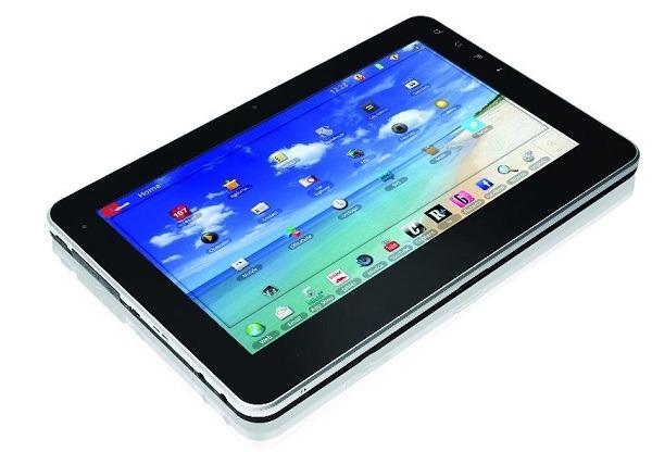 Olivetti OliPad 100, tablet asequible con 10″ con el sistema operativo Android Honeycomb 3.1