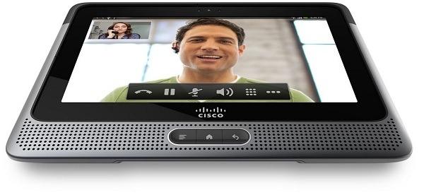 Cisco Cius, tablet empresarial de Cisco con el sistema operativo Android 2.2 Froyo
