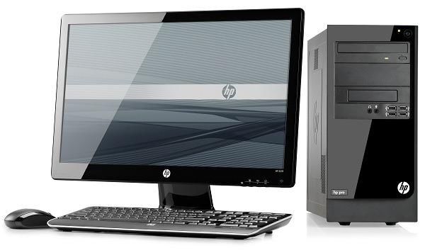 HP Pro 3300, ordenador de sobremesa profesional con gráficos y potencia limitados