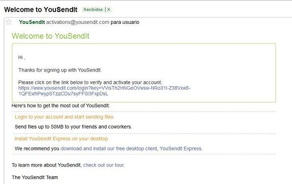 YouSendIt, programa para compartir archivos en la red con 2 GB de almacenamiento gratis
