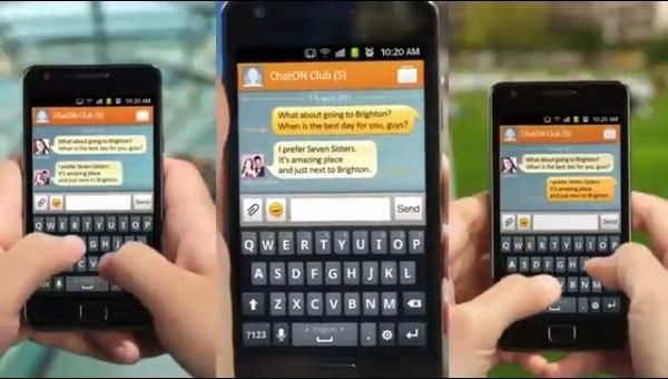 ChatOn, Samsung lanzará su propia aplicación de mensajería