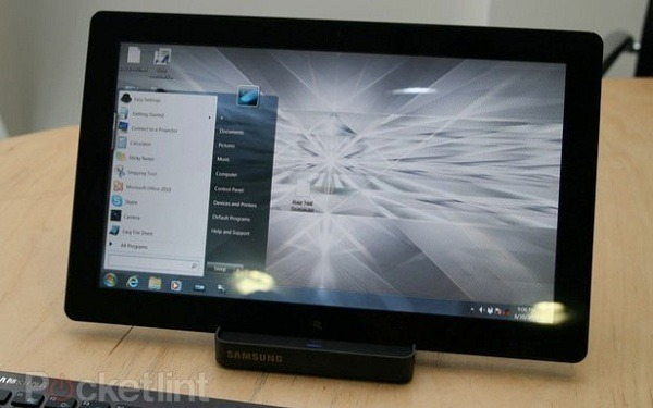 Samsung Slate PC Series-7, tablet de Samsung con Windows 7