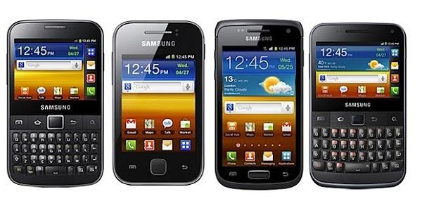 Samsung Galaxy W, móvil Android potente de 3,7″
