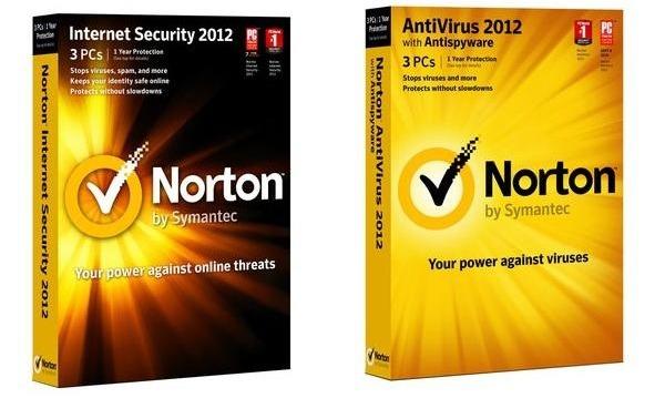 Norton Antivirus 2012 y Norton Internet Security 2012