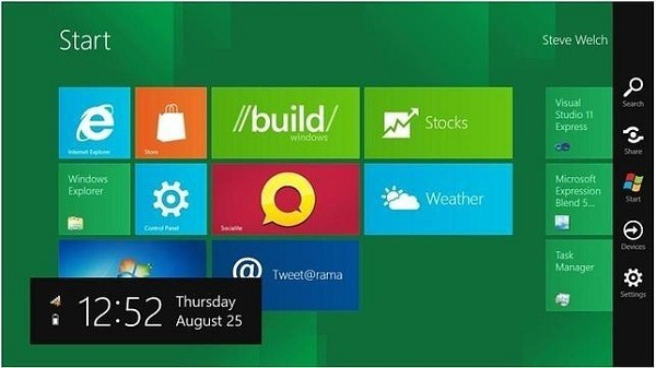 Windows 8, primeras impresiones del diseño de Windows 8
