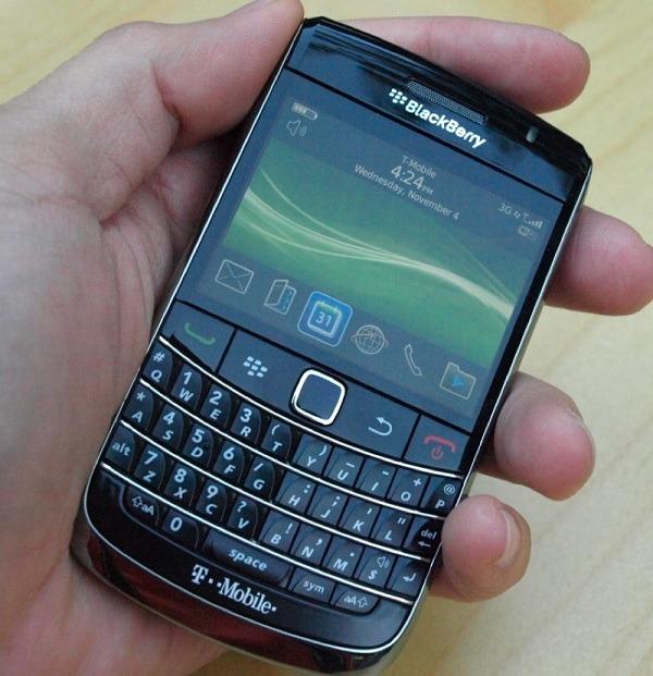 Se descubren nuevos agujeros en el sistema de BlackBerry