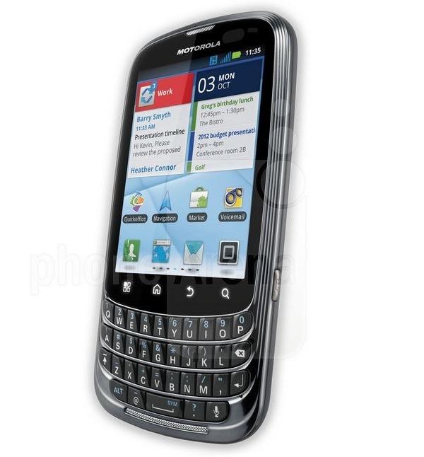 Motorola Admiral, móvil profesional Android con teclado