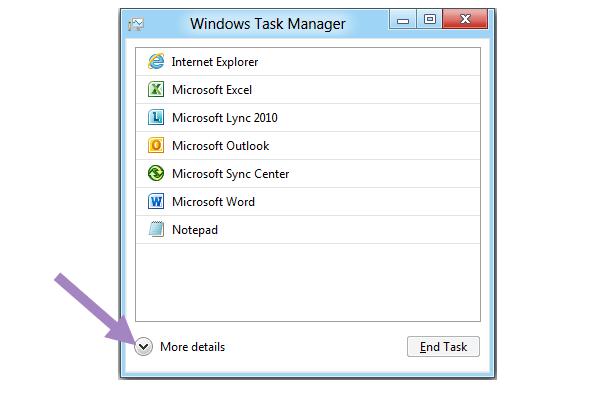 Microsoft renovará el Administrador de tareas de Windows 8