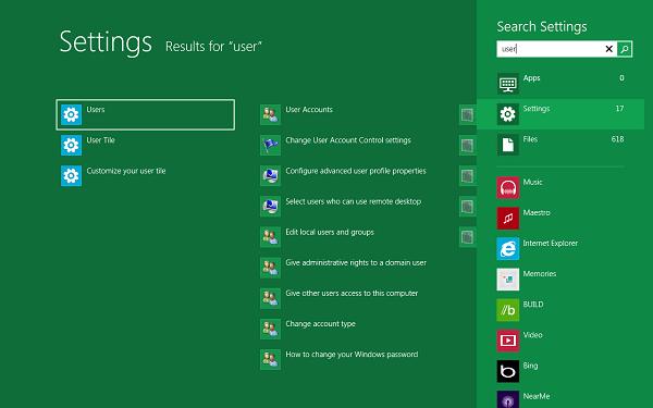 Windows 8 mejorará la búsqueda de archivos y aplicaciones
