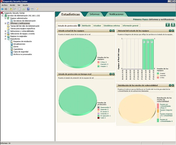 Kaspersky Endpoint Security 8, protección empresarial