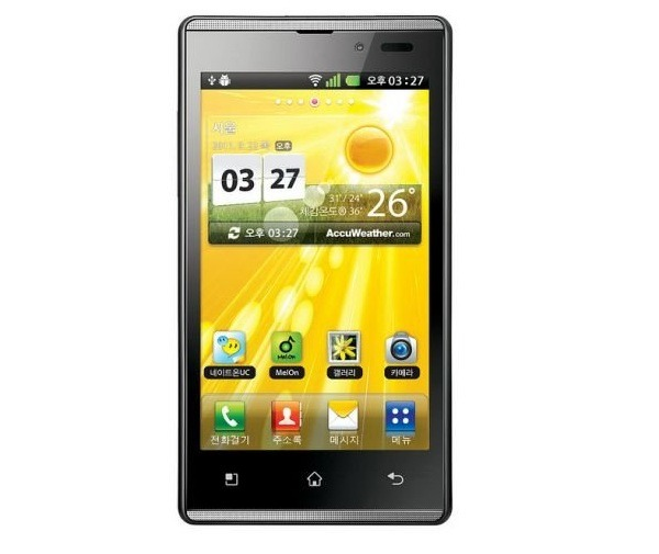 LG Optimus EX, una buena alternativa al Samsung Galaxy S II