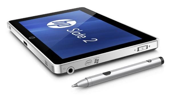 HP Slate 2, tablet empresarial de HP con Windows 7
