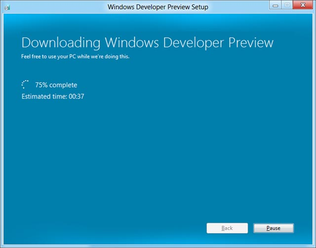 Microsoft mejorará la actualización por Internet a Windows 8