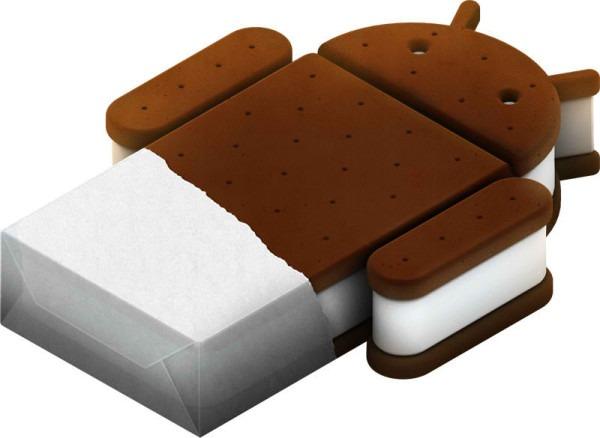 Actualización de Android Ice Cream Sandwich