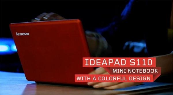Lenovo Ideapad S110, netbook potente con USB 3.0