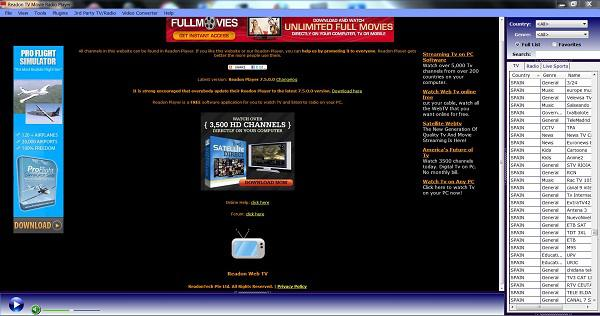 telecharger readon tv movie radio player gratuit