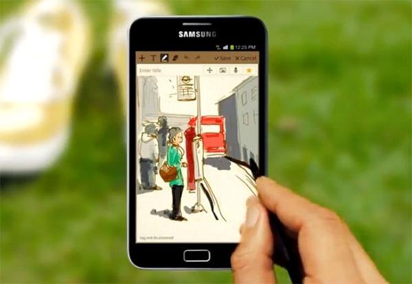 Samsung ya ha distribuido un millón de Samsung Galaxy Note