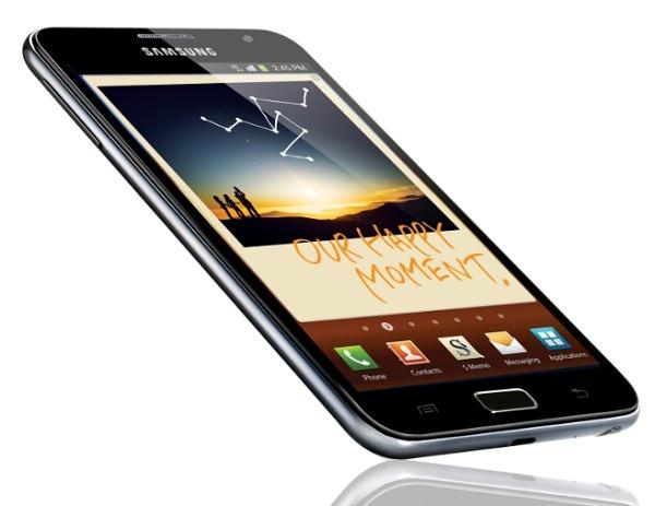 Samsung venderá un 15% más de móviles en 2012