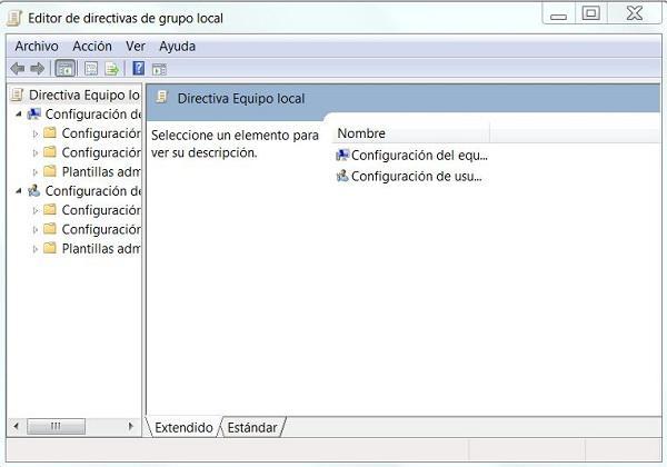 Cómo deshabilitar la ventana de protección en Windows 7