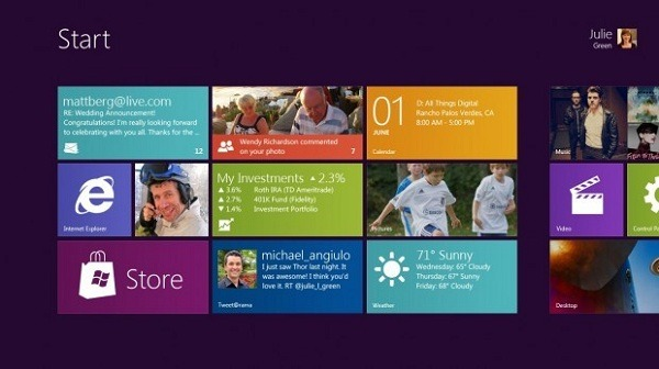 Requisitos mínimos de Windows 8 para un tablet