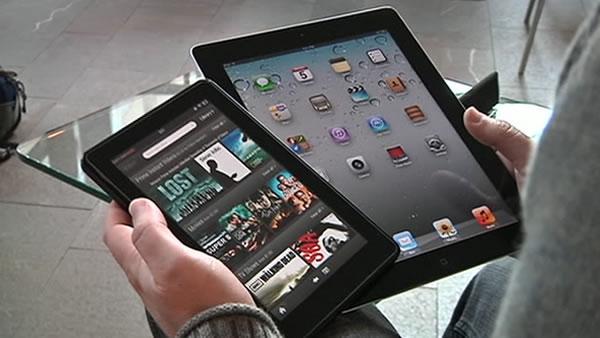 La tableta de Amazon le roba ventas al iPad