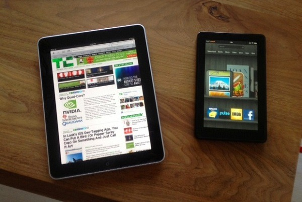 La tableta de Amazon le roba ventas al iPad