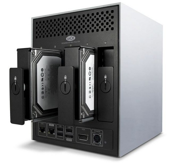 LaCie 5big Office Series, dispositivos NAS para Pymes