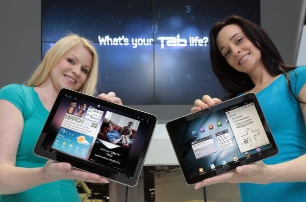 Ventas de tablets en 2011