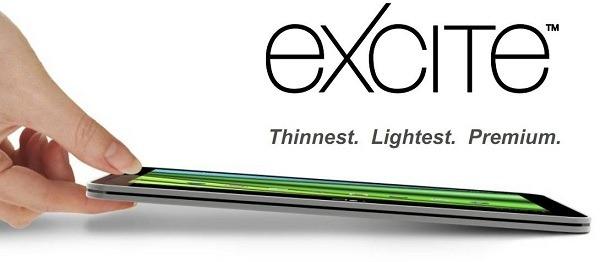 Toshiba Excite AT200, la tableta más fina del mercado