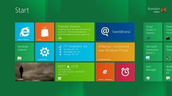 Windows 8 llegará en octubre