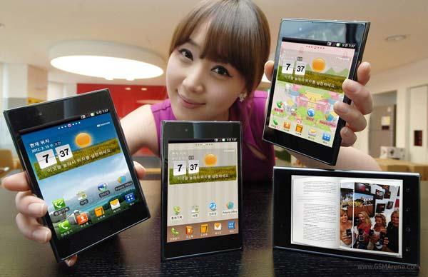 LG Optimus Vu, dispositivo híbrido entre móvil y tablet