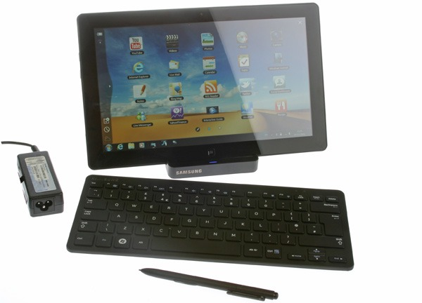 Samsung Series 7 Slate 700T, tablet con Windows 7