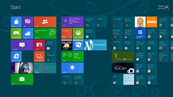 Atajos del teclado de Windows 8