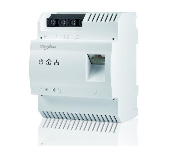 devolo dLAN 200 AVpro DINrail, une Internet a la red eléctrica