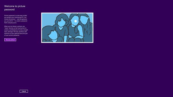 Cómo crear una imagen contraseña en Windows 8