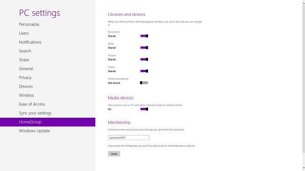 Cómo compartir archivos en red a través de Windows 8