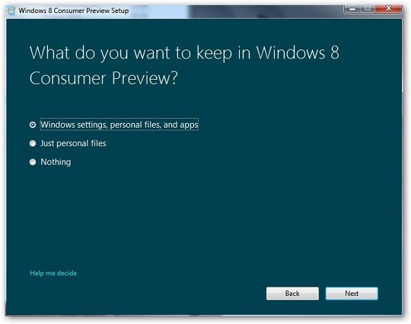 Cómo instalar la beta de Windows 8