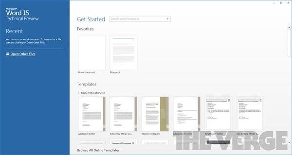 Microsoft Office Word 15
